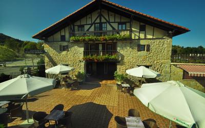 Restaurante Arita Berri Jatetxea - Terraza